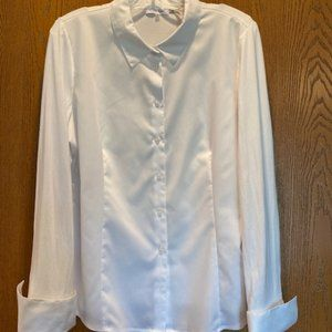 Calvin Klein Button Down Top, Sz XL